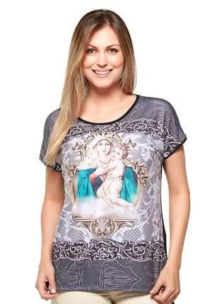 Blusa mãe rainha - coleção ágape