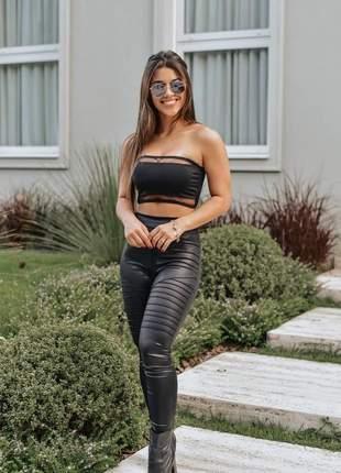 Calça legging tratorada