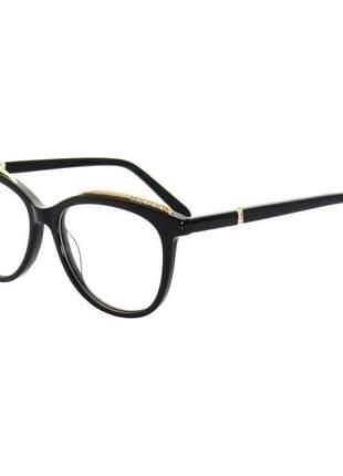 Oculos armação de grau 2147 gatinho preto