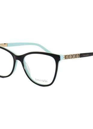 Oculos armação de grau - tiffany & co. - tf2099 - preto e azul