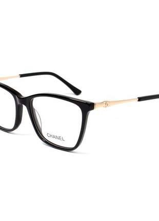 Oculos armação de grau - chanel ch3300 - preto
