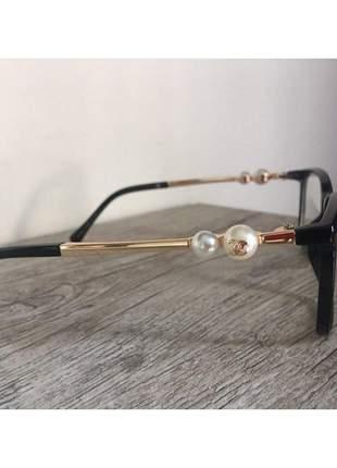 Óculos armação de grau - chanel pérola