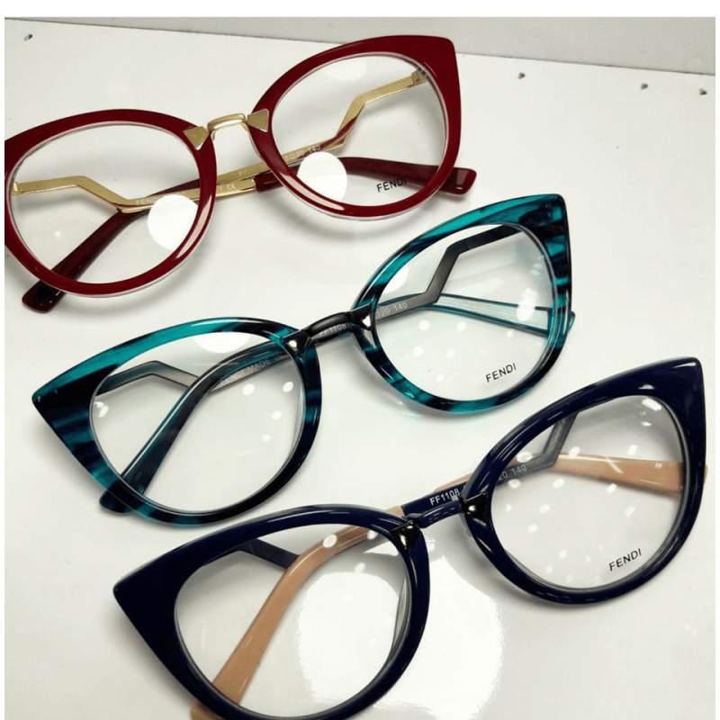 Oculos Armacao De Grau Fendi Stille 1 R 129 00 Escuros