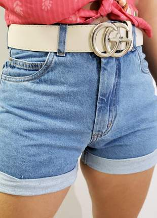 Short mom jeans claro