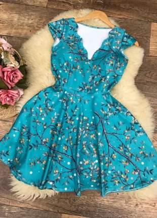 Vestido gode rodado