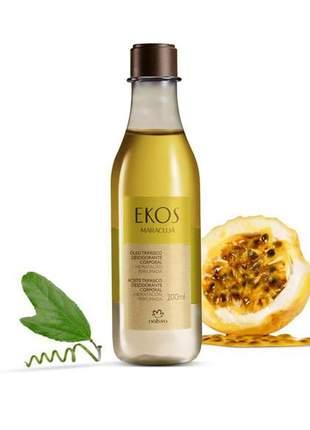 Óleo trifásico desodorante corporal maracujá ekos - 200ml