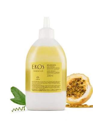 Refil óleo trifásico desodorante corporal maracujá ekos - 200ml