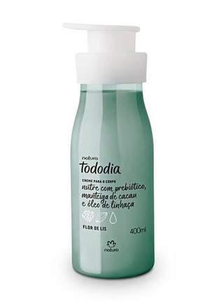 Creme desodorante nutritivo para o corpo flor de lis tododia - 400ml