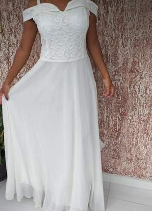 Vestido longo casamento  promoção