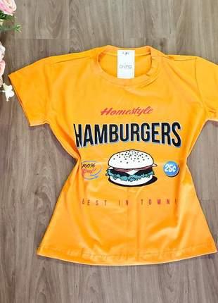 T-shirt hamburgers