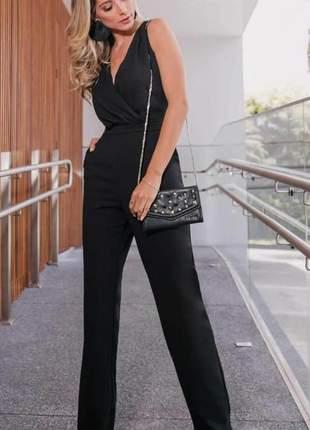 Macacao feminino longo