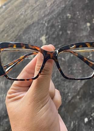 Armacao de óculos diamante estilo dolce & gabbana dg5025 marrom tartaruga