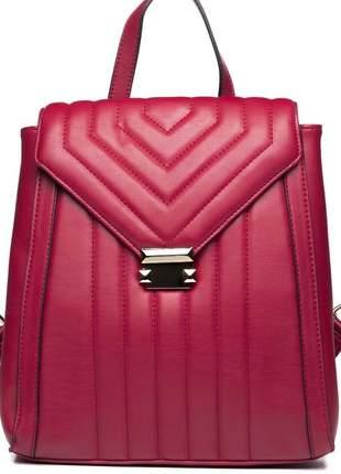 Bolsa feminina vermelha