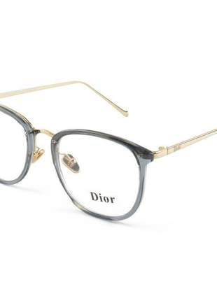 Armacao de óculos feminina dior rm2002-1 cd ice blue