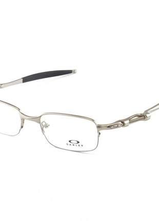 Armacao de óculos oakley coilover ox5043 prata