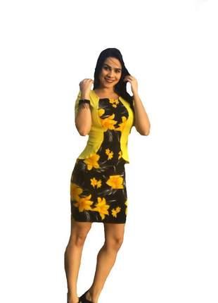 Vestido midi social festas roupas femininas moda luxo atacado promoção