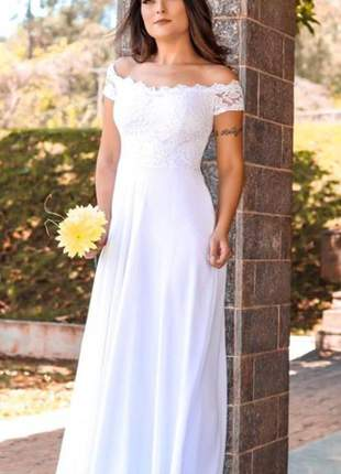 Vestido longo casamento