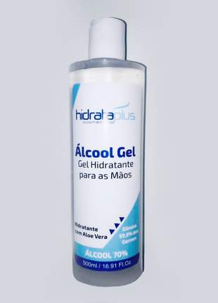 Álcool gel hidrata plus 70% 500ml