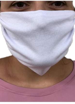 Kit 12 equipamentos de proteção facial de tecido100% algodão - lavável e reutilizável