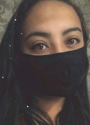 Kit 10 máscaras de proteção respiratórios  facial lavável e reutilizável com forro