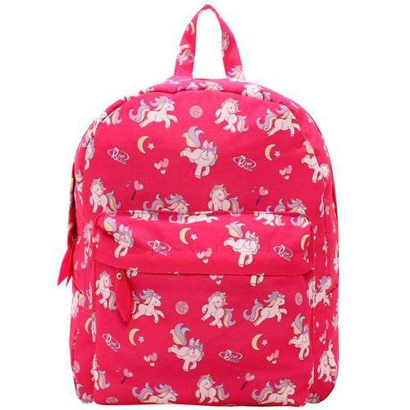 e8076ae95 Mochila escolar pink unicornio coleção lorena queiroz - R$ 94.99 ...