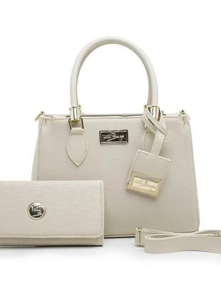 Kit bolsa com carteira luxo linda willibags super promoção
