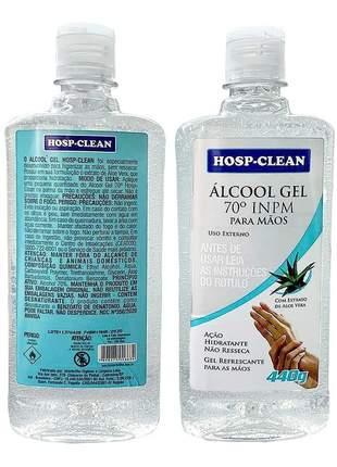 Álcool gel anticéptico 70% inpm 500 ml para mãos