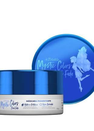 Máscara pigmentante triskle mystic colors cor azul fada 120g