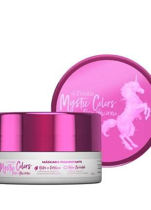 Máscara pigmentante triskle mystic colors cor rosa unicórnio 120g