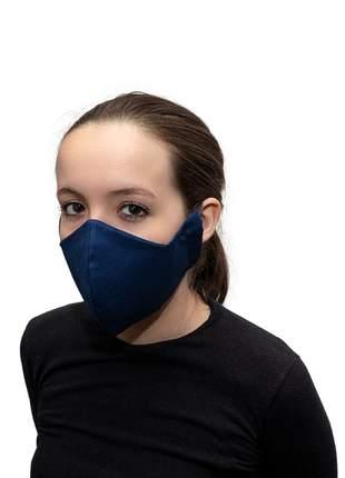 Kit com 10 mascaras 100% algodão dupla face lavável unisex