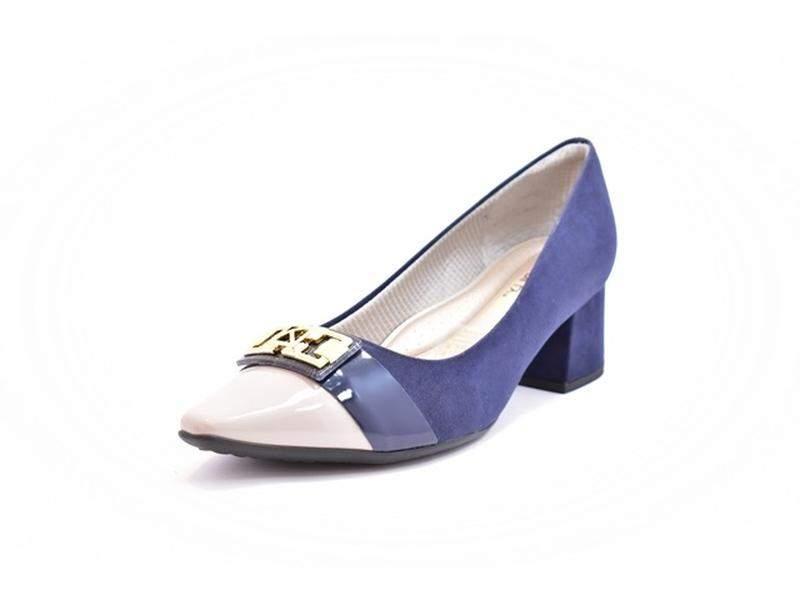 27e0d14481 Sapato feminino tamanho grande scarpin piccadilly navy numeração especial  401 ...