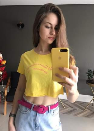 Camiseta, t-shirt cropped, tshirt algodão