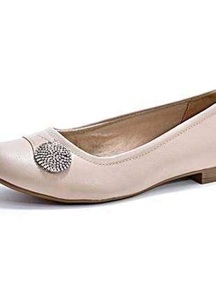 Sapato feminino tam. grandes salto baixo renata della vecchia numeração especial 40 ao 43