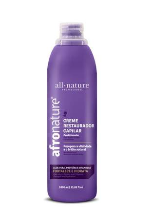 Creme restaurador com aloe vera 1000ml all nature