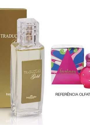 Perfume traduções gold nº 13 fantasy hinode - 100 ml