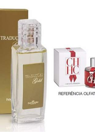 Perfume traduções gold nº 55 carolina herrera red - 100ml