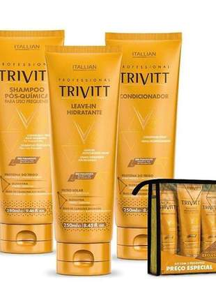 Kit home care trivitt + leave-in (3 itens)