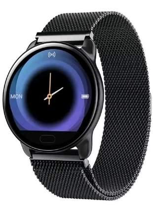 Relógio smartwatch k9 pro original preto prova d'agua