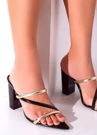 Sandália feminina tamanco