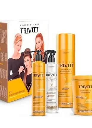 Kit trivitt cauterização profissional (4 itens)