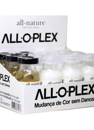 Aloplex blocker (mini kit) all nature - bloqueador de danos nas coloraçoes