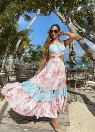 Vestido playa mid