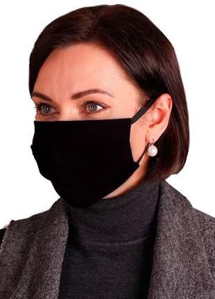 Kit 10 mascara respiratória tripla camada proteção lavável alta qualidade