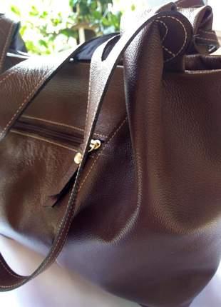 Bolsa em couro legitimo direto de fabrica feito artesanalmente couro macio e resistente