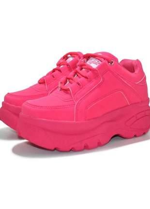 Tênis buffalo chunky sneakers rosa