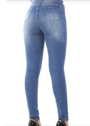 Calça jeans modeladora sawary 360