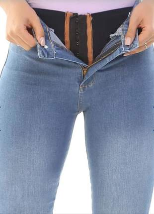 Calça jeans super lipo sawary jeans