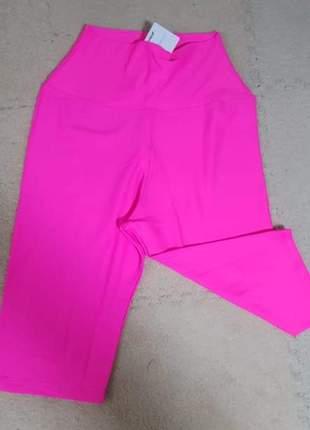 Bermuda lisa rosa neon
