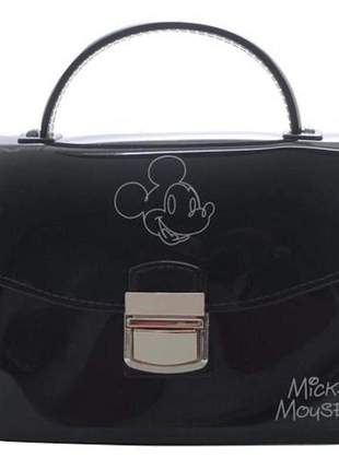 Bolsa feminina mickey pequena alça transversal moda blogueiras