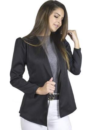 Blazer dress code moda alfaiataria preto